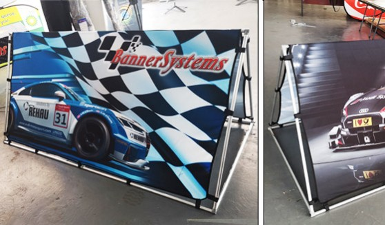 Supplier of quality Aframe banner printer and system manufacturer in Gauteng. We supply fine outdoor advertising material at budget rates.