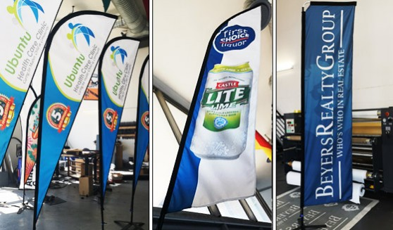 Supplier of quality Flags and banners branded in full colour utilizing sublimation inks