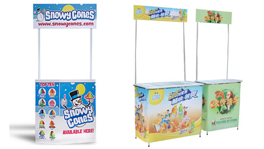 Our pull-up banners include full colour print, top quality alluminium system and carry bag