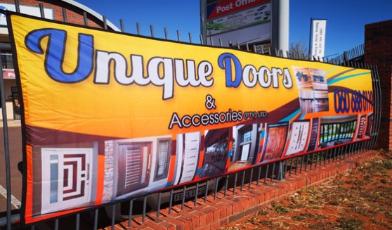 Supplier of Fence wraps and flags and banners branded in full colour on fabric to ensure that the banner will outlast the traditional PVC banners and is fully washable.
